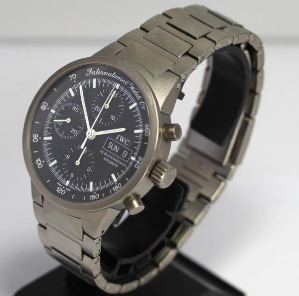 size 40 0093d 63f68 Inter-GST chronograph IW370703 self-winding watch men