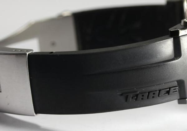 티소 T-레이스 크로노그래프 T048417 쿼츠 러버 맨즈