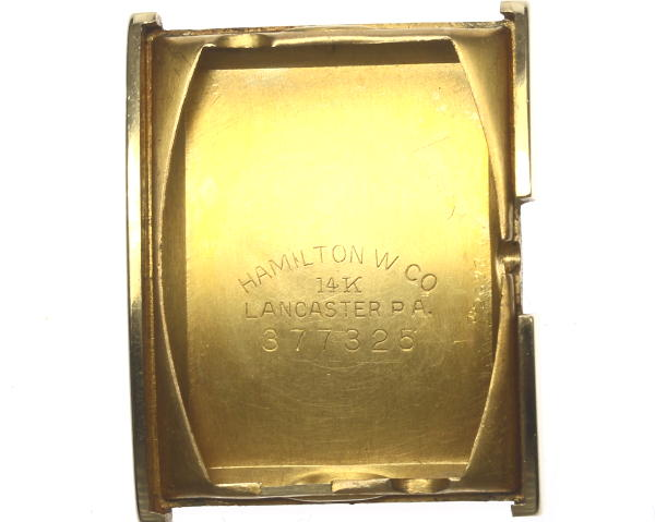 Hamilton K14 antique rolling by hand cal .982 leather Boys