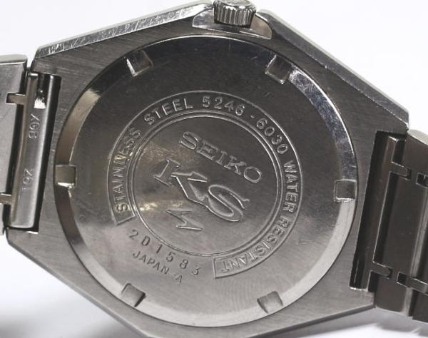 ※The SEIKO Sei King Coe VANAC 5246-6030 SS AT men whom there is reason in