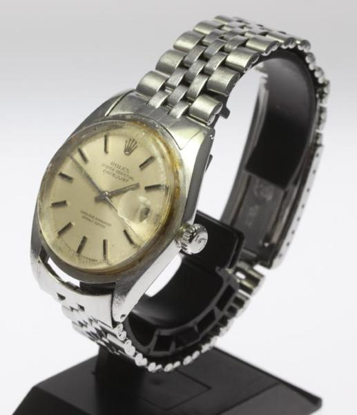 Junk Rolex date just 1601 1570 self-winding watch men