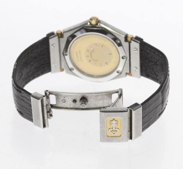 CORUM Colomb admiral 99.114.21 SS/YG quartz Lady's