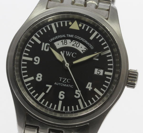 ※Reason existence インターナショナルフリーガ UTC IW325102 self-winding watch men