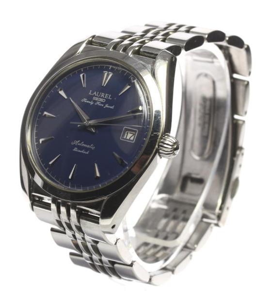Box, guarantee memo SEIKO laurel LHAM600 4S15-0020 self-winding watch men☆