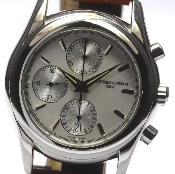 FC-392X5B4/5/6 chronograph self-winding watch outside a company building leather belt men ★ box, 保