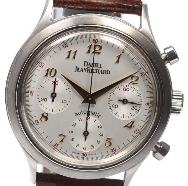 9e260a9712c CLOSER  Daniel Jean Richard 25005 chronograph self-winding watch men ...