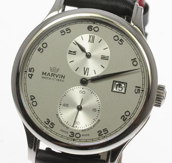 fc3b2e7d07 ♭ MARVIN マーヴィン コンビ M117-32 12M117.32.31.31 メンズ 腕時計 【中古】 オートマ