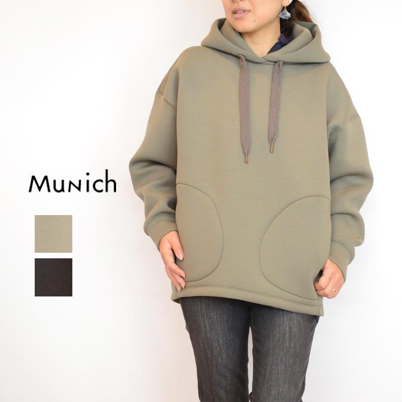 【送料無料】Munich (ミューニック)ビッグパーカー WN192U17[パーカー レディース]