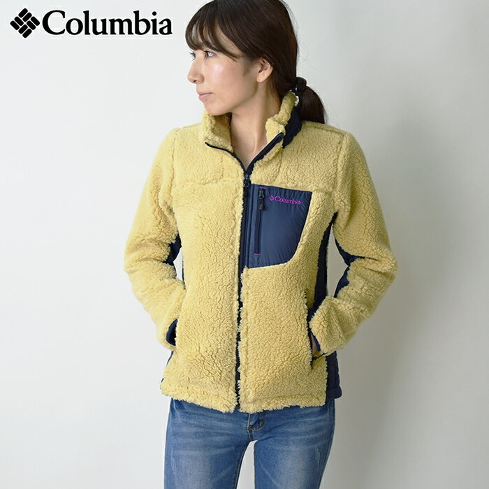 【送料無料】 COLUMBIA コロンビア アーチャーリッジ ウィメンズジャケット/レディース ボアジャケット Archer Ridge Women's Jacket フリース アウトドア (PL3060) 【2018年秋冬モデル】