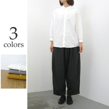 ★FIRMUM フィルマムラフコットンシーチングシャツ[A8-FR011SF]