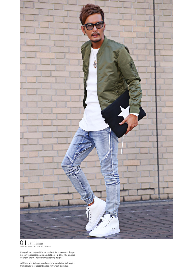1f7d6128f9 Sneakers men s shoes shoes lace-up high-cut middle cut ankle cut PU leather  Bitter bitter Street Court shoes sweatshirts suet brother of Oni not white  white ...