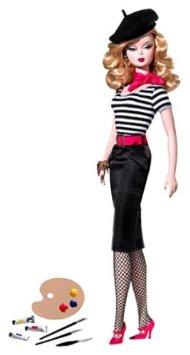 バービー アジア限定 バービー ファッションモデル コレクション アーティスト M4973 (ゴールドラベル) マテル