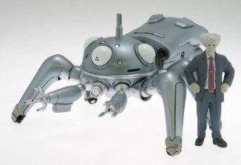 攻殻機動隊S.A.C タチコマンズ タチシルバー (1/24スケールABS塗装済みアクションフィギュア) ウェーブ