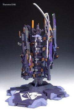 超合金 スーパーエヴァンゲリオン 新型兵装ビル アーミングツリー&武器セット バンダイ