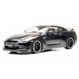 AUTOart AutOart 1/18 NISSAN GT-R SpecV R35 ULTIMATE OPAL BLACK : オートアート