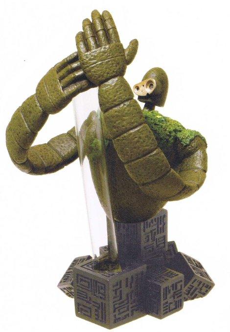 天空の城ラピュタ 一輪挿し 園丁ロボット兵 守り ベネリック