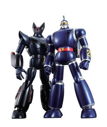 超合金魂 GX-44S 太陽の使者 鉄人28号&ブラックオックスセット : バンダイ