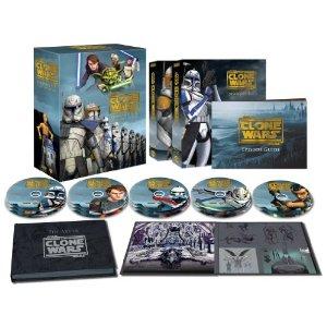 スター・ウォーズ:クローン・ウォーズ シーズン1-5 コレクターズエディション (14枚組)(2,000セット限定) [Blu-ray] (2013) マルチレンズクリーナー付き