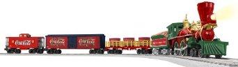 ライオネル Lionel コカコーラ 125周年記念 蒸気機関車 Oゲージセット Coca-Cola 125Th Anniversary Vintage Steam O-Gauge Set 6-30166