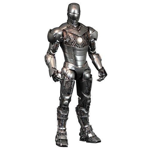 【ムービー・マスターピース】『アイアンマン2』 1/6スケールフィギュア アイアンマン・マーク2 (アーマー・アンリーシュド版) (2次出荷分) : ホットトイズ