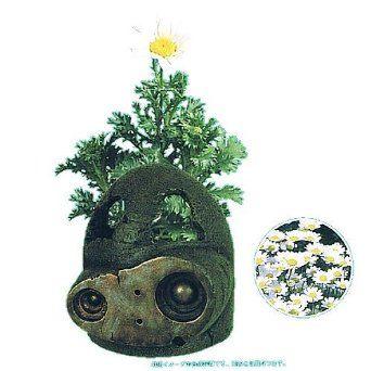 スタジオジブリ 天空の城ラピュタ てのひら菜園/ロボット兵から(クリサンセマム) ベネリック