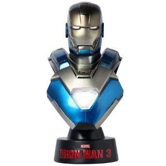 【ホットトイズ・バスト】 『アイアンマン3』 1/6スケールバスト アイアンマン・マーク30 (ブルー・スティール)