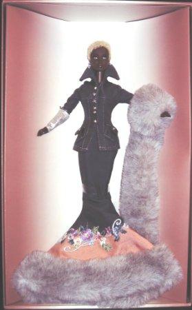 バービー褐色のランウェイ人形バイロンラーズのアフリカ系アメリカ人 マテル