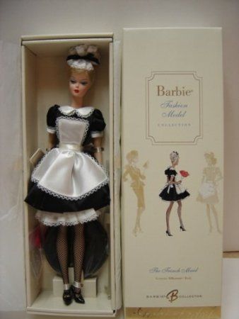 バービー ファッションモデル コレクション フレンチメイド J0966 (ゴールドラベル) マテル