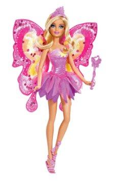 バービーBarbie Beautiful Fairy Barbie Doll W2966 輸入品