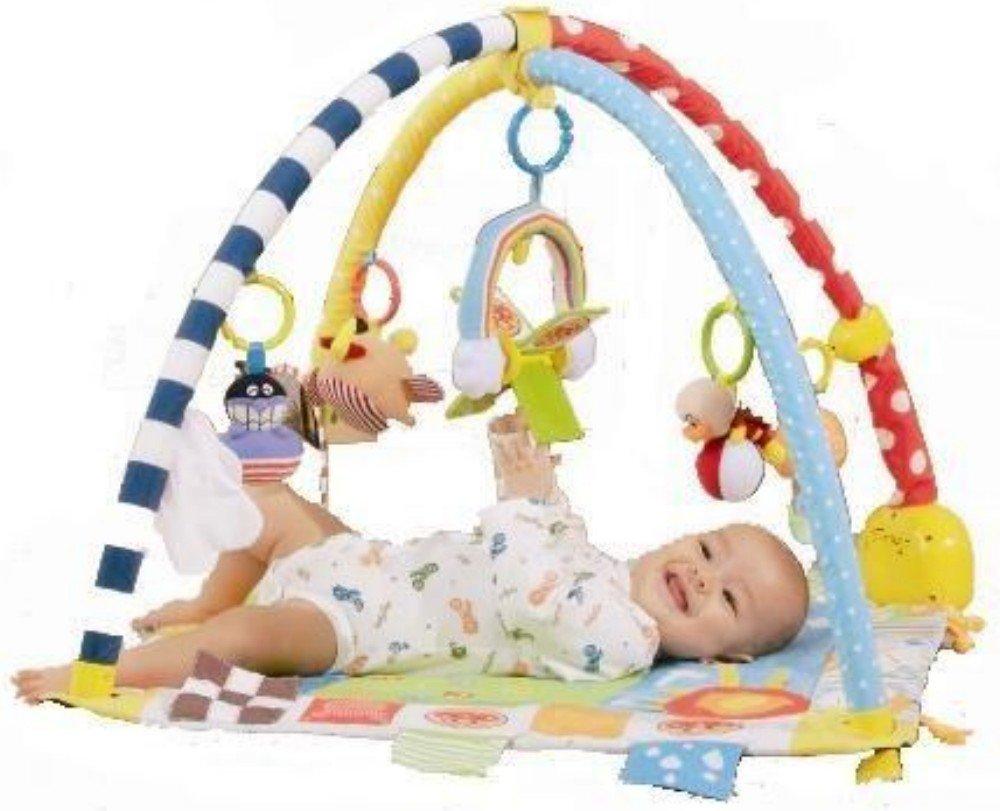 BabyLabo ベビラボ アンパンマン ステップごとの刺激と遊び♪ すくすくプレイマット バンダイ