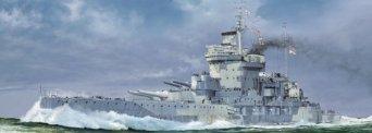 1/700 WWII 英国海軍 戦艦 ウォースパイト 1942 ピットロード