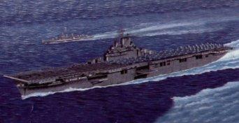 1/350 米海軍 空母 CV-9 エセックス トランペッター