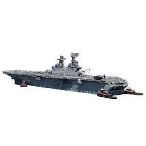 1/350 アメリカ海軍強襲揚陸艦 USS イオウ・ジマ LHD-7 モノクローム