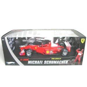 MATTEL DL 1/18 フェラーリ F1 2000 (日本GP/Mシューマッハ) エリート