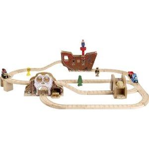 ラーニングカーブ きかんしゃトーマス 木製レール 海賊セット 99572