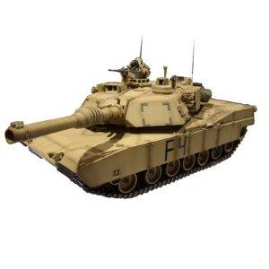 1/24 RCバトルタンク M1A2エイブラムス ( イラク戦仕様)