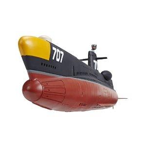 1/144スケール サブマリン707 塗装済み完成モデル