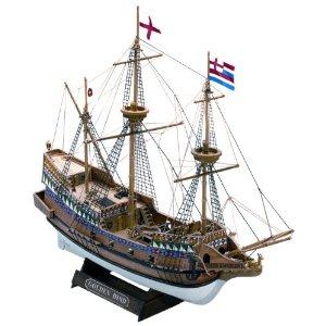 木製帆船模型 マモリミニ MM71 HIND ゴールデンハインド 本物 開店記念セール GOLDEN