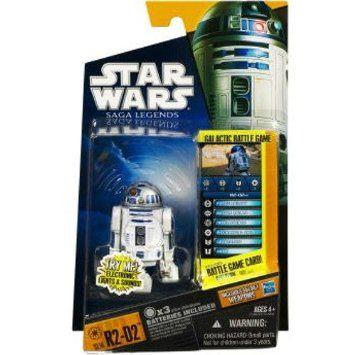 スターウォーズ STARWARS / R2-D2 光る!音が出る!R2D2! ミニフィギュア HASBRO