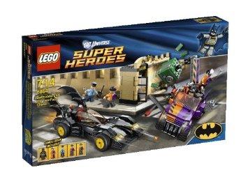 レゴ スーパー・ヒーローズ バットモービルとトゥーフェイス・チェイス 6864