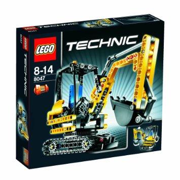 レゴ テクニック パワーショベル 8047