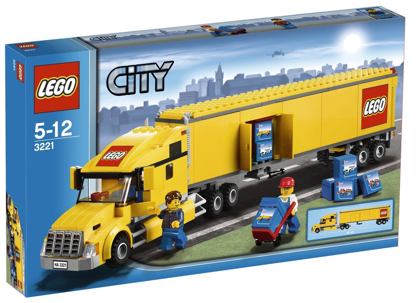 レゴ シティ トレイン トラック 3221