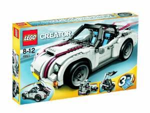 レゴ クリエイター・オープンカー 4993