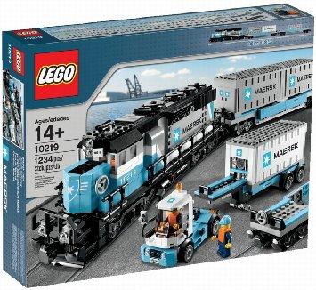 レゴ クリエーター マースクトレイン 10219 Lego Creator Maersk Train 10219 [並行輸入品]