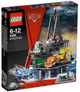 レゴ カーズ オイル・リグからの脱出 9486