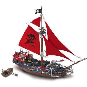 本格的な海賊船★Deluxe メガブランドプレイセット  Mega Bloks社【並行輸入】