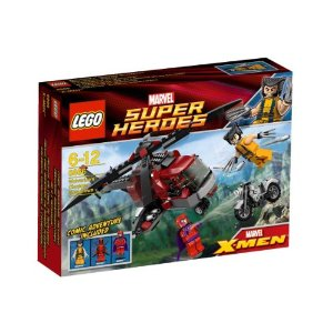 レゴ スーパー・ヒーローズ ウルヴァリン(TM)の ヘリ対決 6866