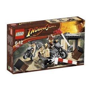 レゴ インディ・ジョーンズ オートバイ・チェイス 7620