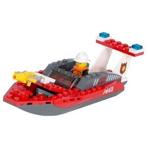レゴ ワールドシティ 消防ボート 7043