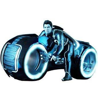 【ムービー・マスターピース】 『トロン:レガシー』 1/6スケール ライトアップ機能付きビークル ライト・サイクル&サム・フリン ホットトイズ